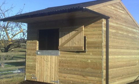Single Timber Mobile Stable
