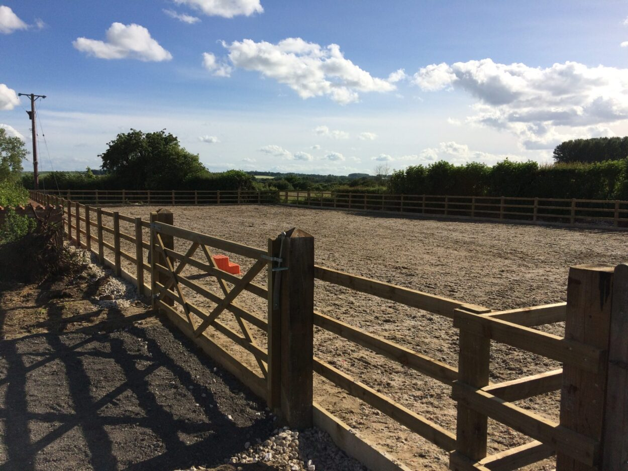Equestrian Arena Construction Yorkshire Uk Equestrian