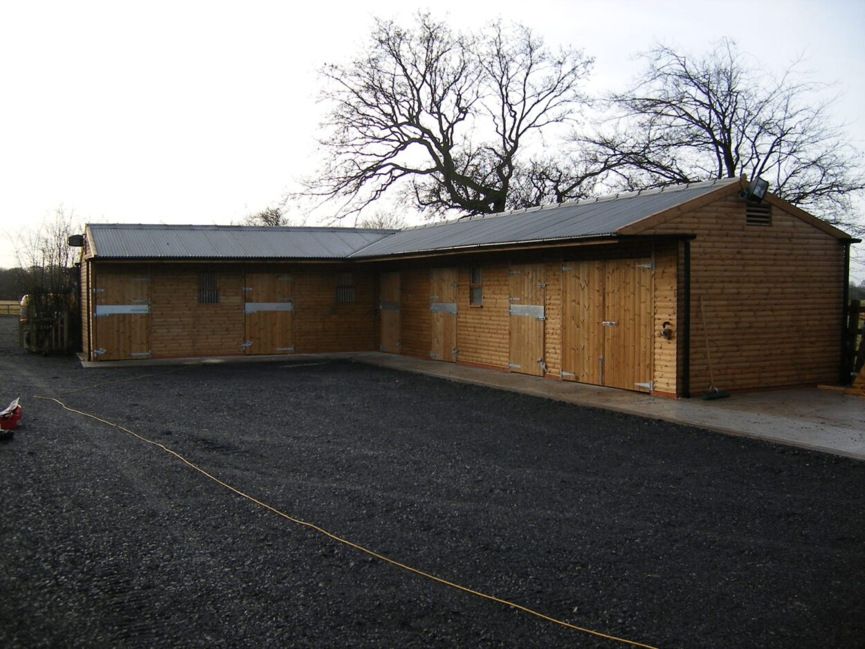 Timber Stables For Sale Yorkshire Stable Building Highfield