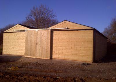 Bespoke Timber Stable Block Sliding Doors Lancashire