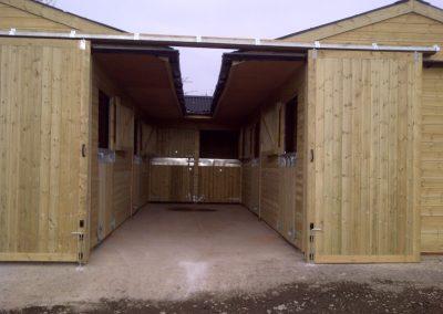 Bespoke Timber Stable Block Lancashire