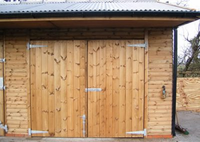 Timber store room Yorkshire