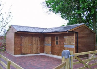 Wooden Stable Block Durham